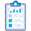 Statistical Report Icon