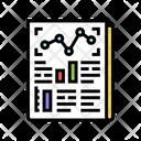 Statistical Report Color Icon