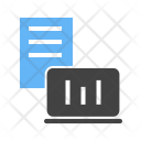 Statistical Report Analysis Icon