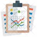 Statistical Representation Statistical Infographic Schematic Representation Icon