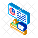 Statistician Assistant Work Icon