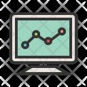 Statistics Analysis Graph Icon