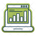 Statistic Report Chart Icon