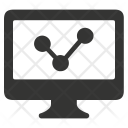 Analytics Computer Graph Icon