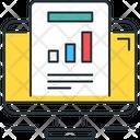 Statistics Report Graph Icon