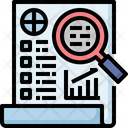 Business Report Statistic Icon