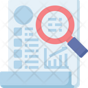 Busienss Report Statistic Icon