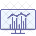 Statistics Analytics Seo Icon