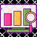Statistics Data Analytics Data Analysis Icon