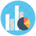 Statistics Bars Graphic Financial Chart Icon
