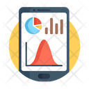 Mobile Data Data Analytics Business Infographic Icon