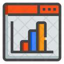 Web Page Stats Website Icon