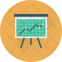 Statistics Analytics Presentation Icon