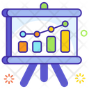 Statistics Benchmarking Business Chart Icon