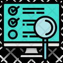 Statistics Monitor Graph Icon