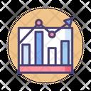 Mstatistics Statistics Growth Graph Icon