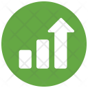 Statistics High Arrow Icon