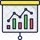 Statistics Analytics Marketing Icon