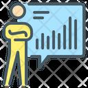 Statistics Report Chart Icon