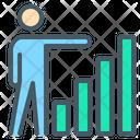 Statistics Chart Indicators Icon