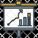 Statistics Presentation Board Icon