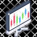 Statistics Web Infographic Modern Infographic Icon