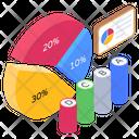 Statistics Infographic Modern Infographic Icon