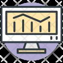 Statistics Screen Bars Icon