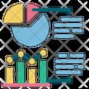 Statistics Chart Data Report Icon