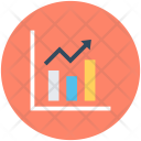 Statistics Growth Chart Icon