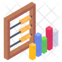 Abacus Statistics Abacus Business Chart Icon