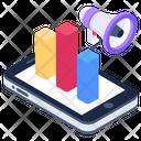 Internet Marketing Marketing App Statistics App Promotion Icon