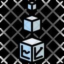 Box Statistics Analytics Icon