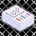 Statistics Report Analytics Statement Business Report Icon
