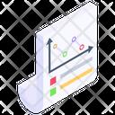 Data Analytics Bar Chart Business Report Icon