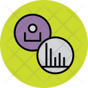 Stats User Employee Icon
