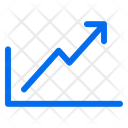 Stats Up Arrows Icon