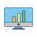 Stats Data Business Icon
