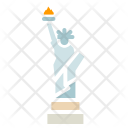 Statue Liberty United Icon