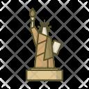 Statue Liberty America Icon