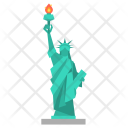 Statue Liberty Usa Icon