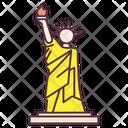 Statue Of Liberty New York Manhattan Landmark Icon