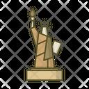 Statue Of Liberty America United Icon