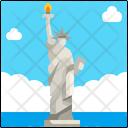 Statue Of Liberty Landmark Monument Icon