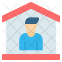 Stay At Home Home House Icon