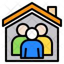 Stay At Home Icon