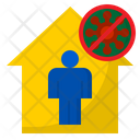 Workhome Virus Covid Icon