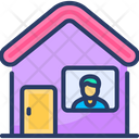 Stay Home Protect Icon