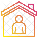 House Avatar Stay At Home Icon
