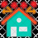 Stay At Home Protect Coronavirus Icon